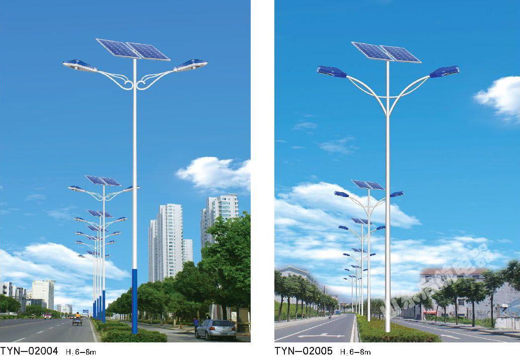 太阳能路灯主要部件——太阳能电池板的使用寿命25年;超亮led的平均